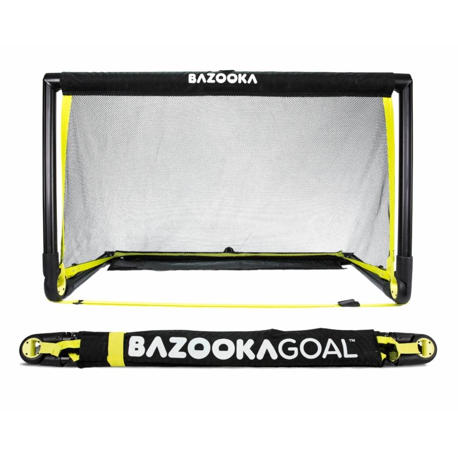 Kép 5/8 - BazookaGoal 150x90 összecsukható kapu fekete hálóval