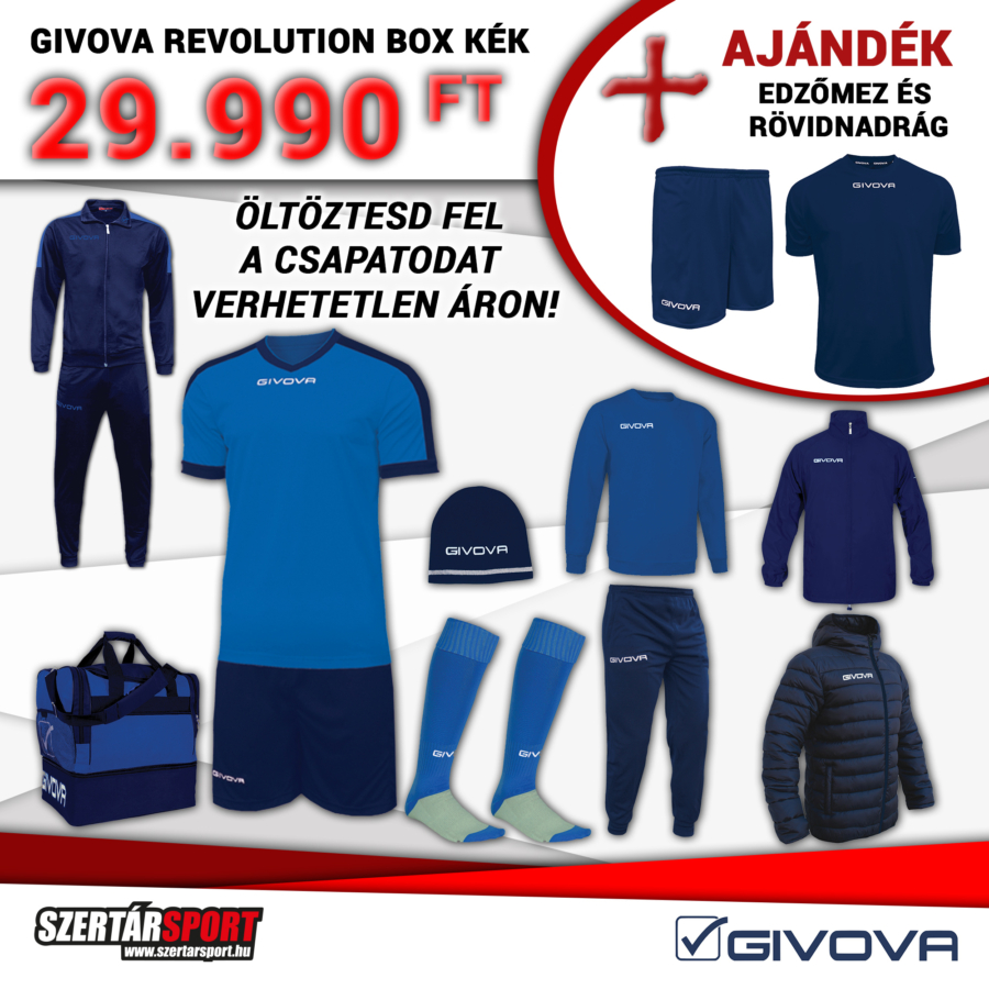 Kép 1/1 - Givova Revolution Box kék