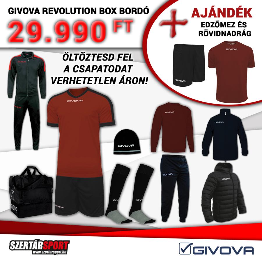 Kép 1/1 - Givova Revolution Box bordó