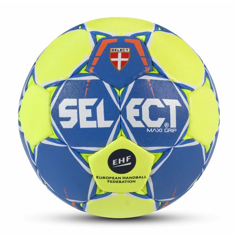 Kép 1/1 - Select Max Grip EHF kézilabda kék/sárga