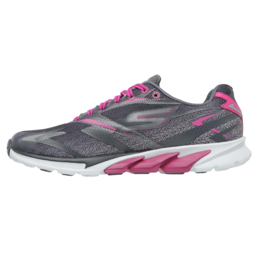 Kép 6/7 - Skechers GOrun 4 női futócipő - szürke-pink 5
