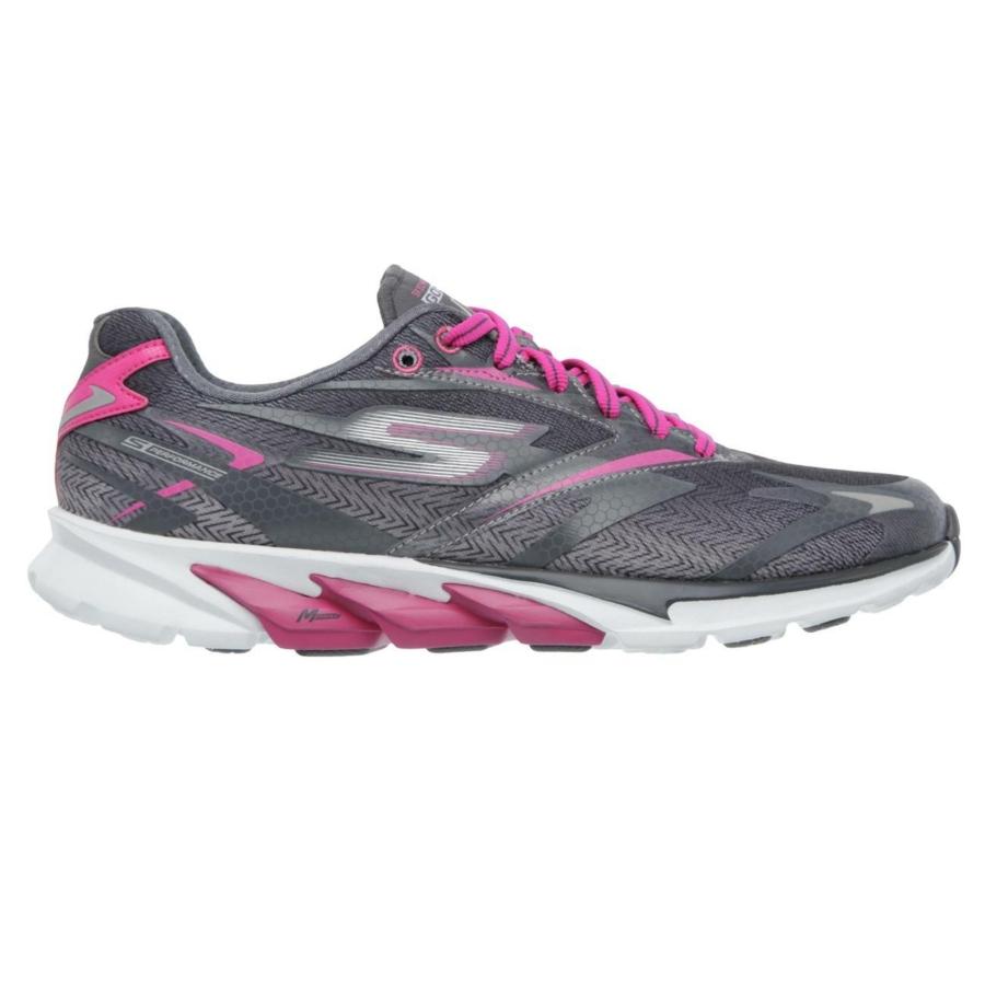 Kép 7/7 - Skechers GOrun 4 női futócipő - szürke-pink 6