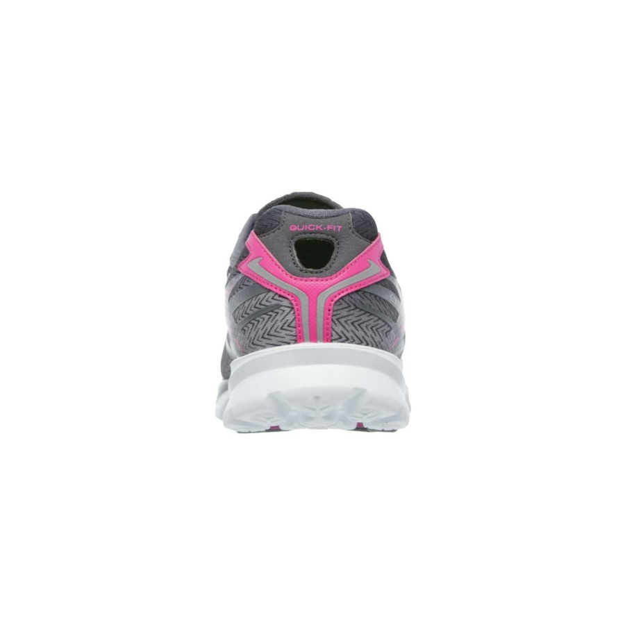 Kép 3/7 - Skechers GOrun 4 női futócipő - szürke-pink 2