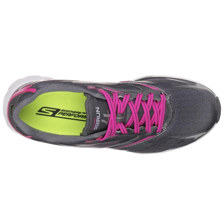 Kép 4/7 - Skechers GOrun 4 női futócipő - szürke-pink 3
