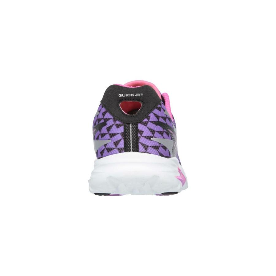 Kép 3/7 - Skechers GOrun Ride 5 női futócipő - fekete-lila-fehér 2