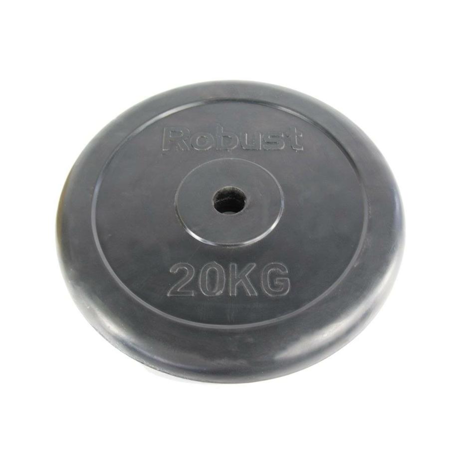 Kép 1/1 - Gumis súlytárcsa 20 kg, 31mm