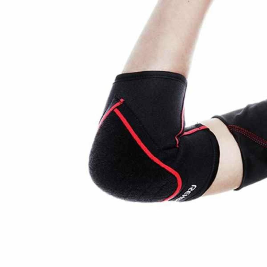 Kép 2/3 - Rehband RX Gyerek könyökvédő - fekete-piros 1