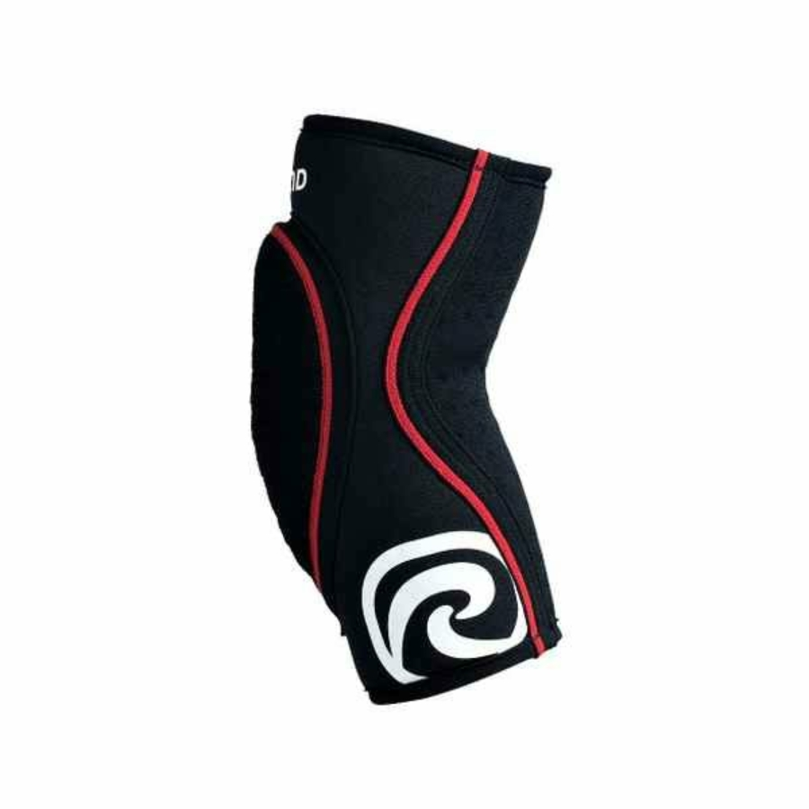 Kép 2/4 - Rehband RX Felnőtt könyökvédő - fekete-piros 1