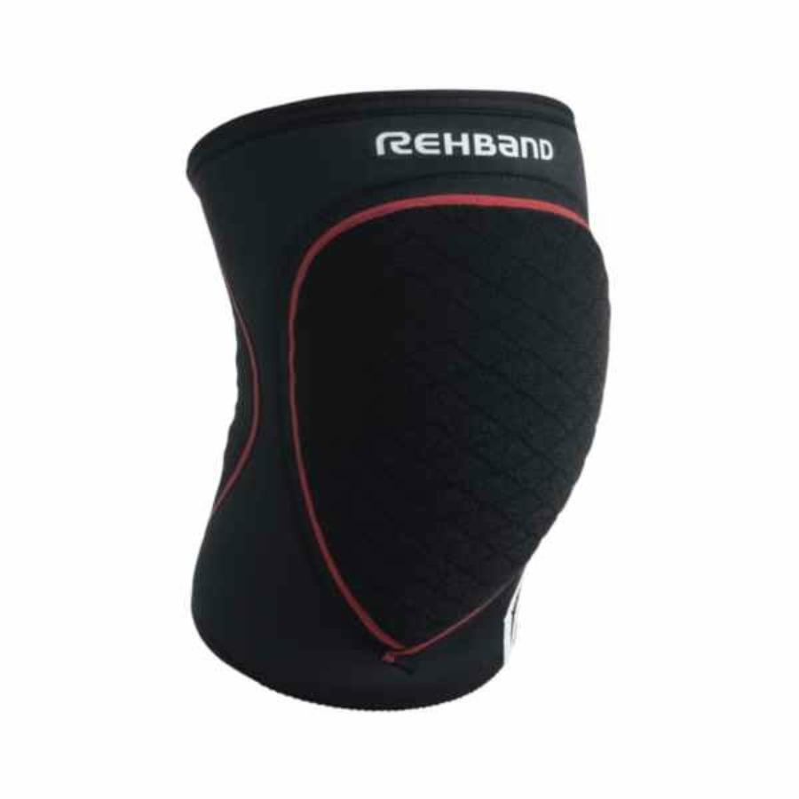 Kép 1/3 - Rehband RX Speed Gyerek térdvédő  (2db/csomag) - fekete-piros