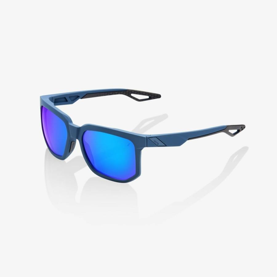 Kép 1/2 - 100% Centric napszemüveg, Soft Tact, Blue, Multi, Mirror lens