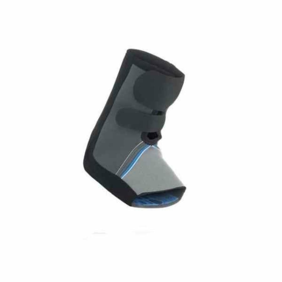 Kép 1/3 - Rehband bokavédő Core Line -  szürke-kék-fekete