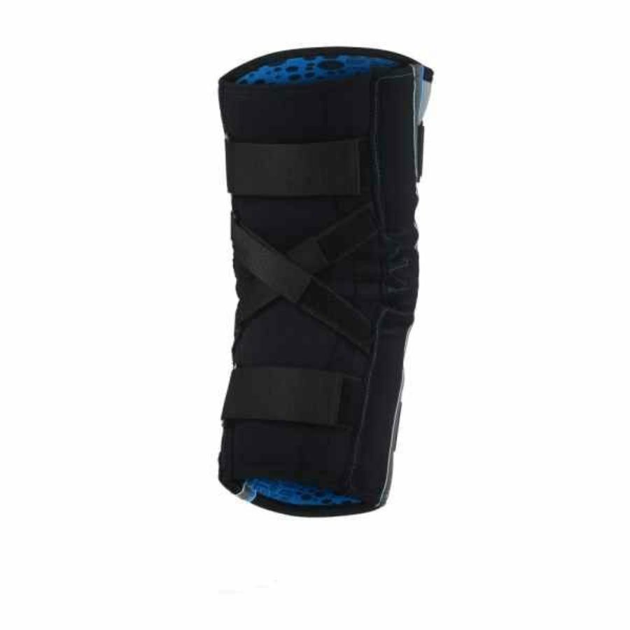 Kép 2/3 - Rehband Hyper-X térdvédő - szürke-fekete-kék 1