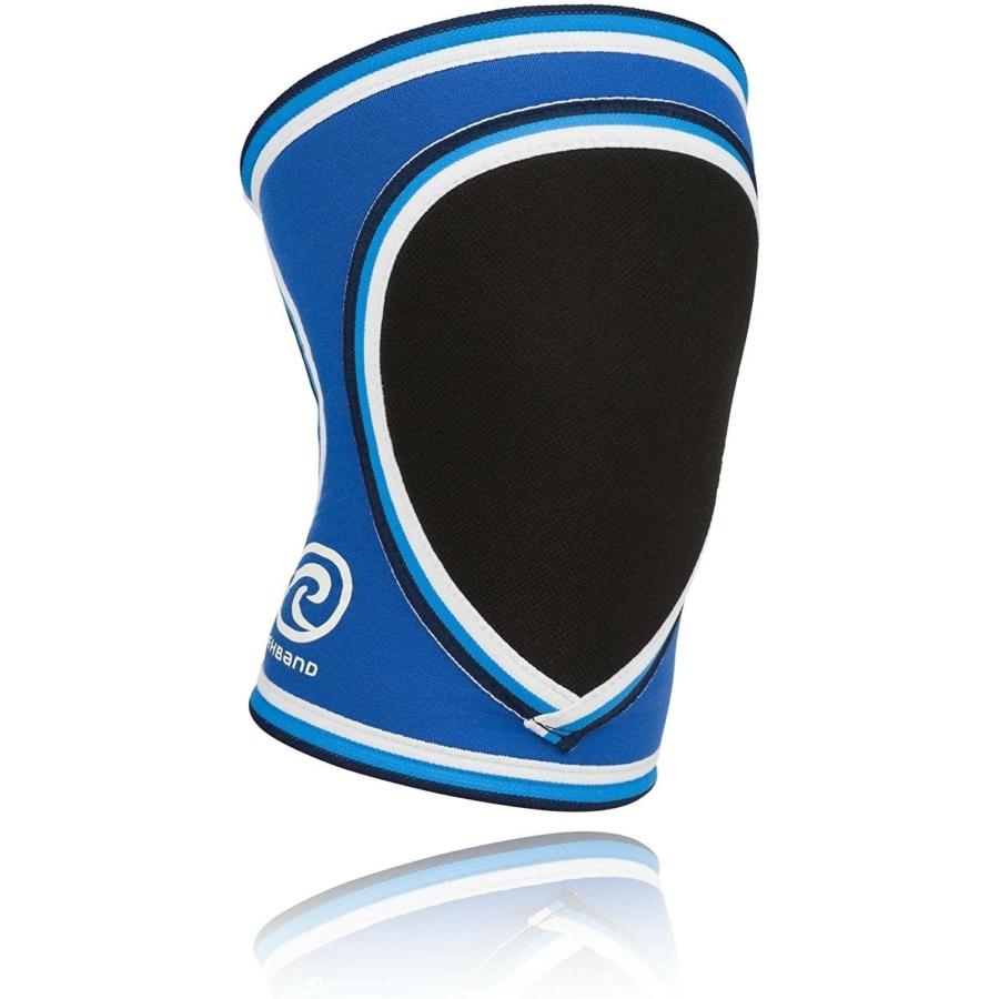 Kép 1/2 - Rehband Kézilabda gyerek térdvédő  (2db/csomag) - kék-szürke-fehér