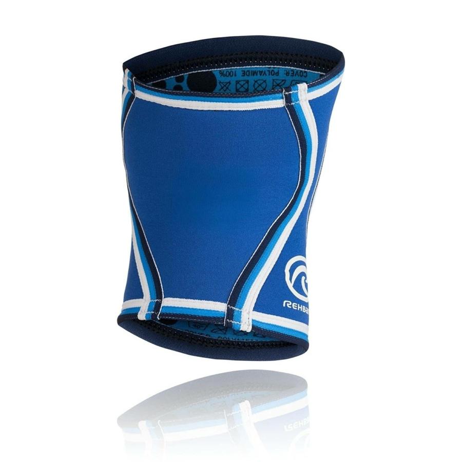 Kép 2/2 - Rehband Kézilabda gyerek térdvédő  (2db/csomag) - kék-szürke-fehér 1