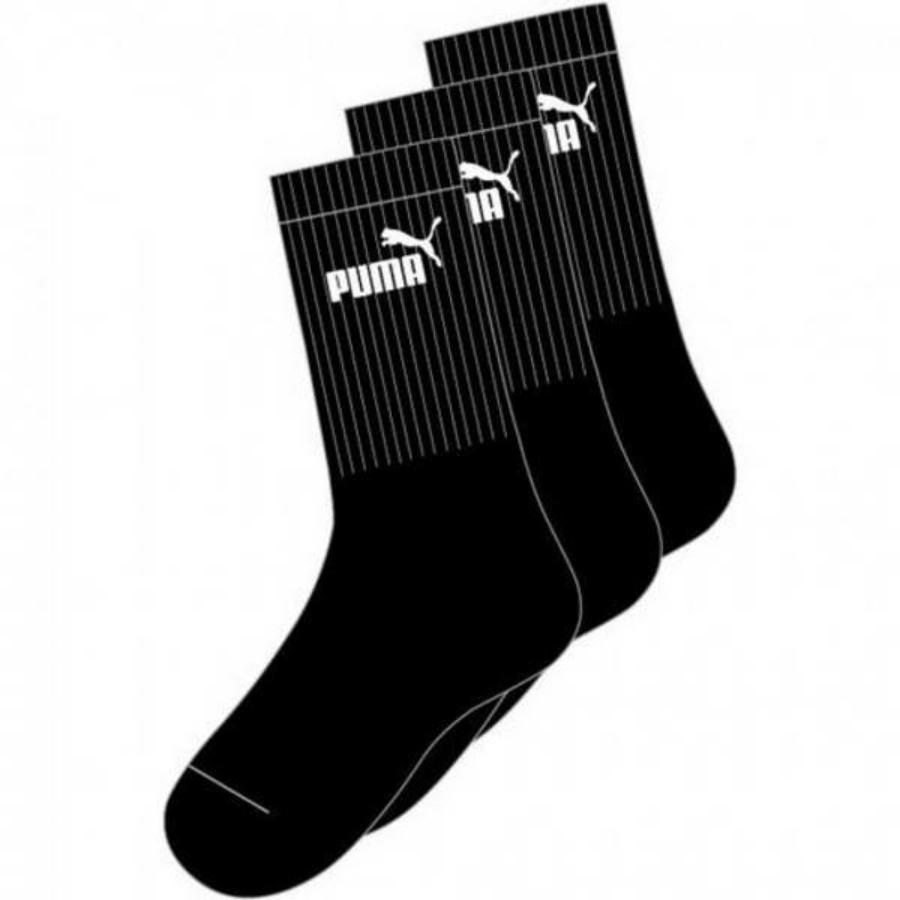 Kép 1/1 - Puma Sport Junior gyerek zokni - fekete, 3 pár/csomag