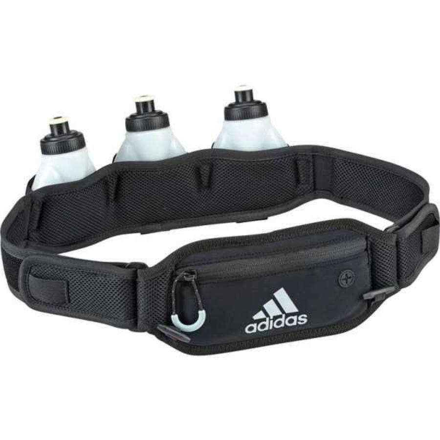 Kép 1/1 - Adidas Runing futóöv kulacsokkal - fekete