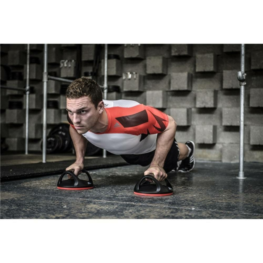 Kép 2/4 - Adidas forgatható fekvőtámasz állvány 1