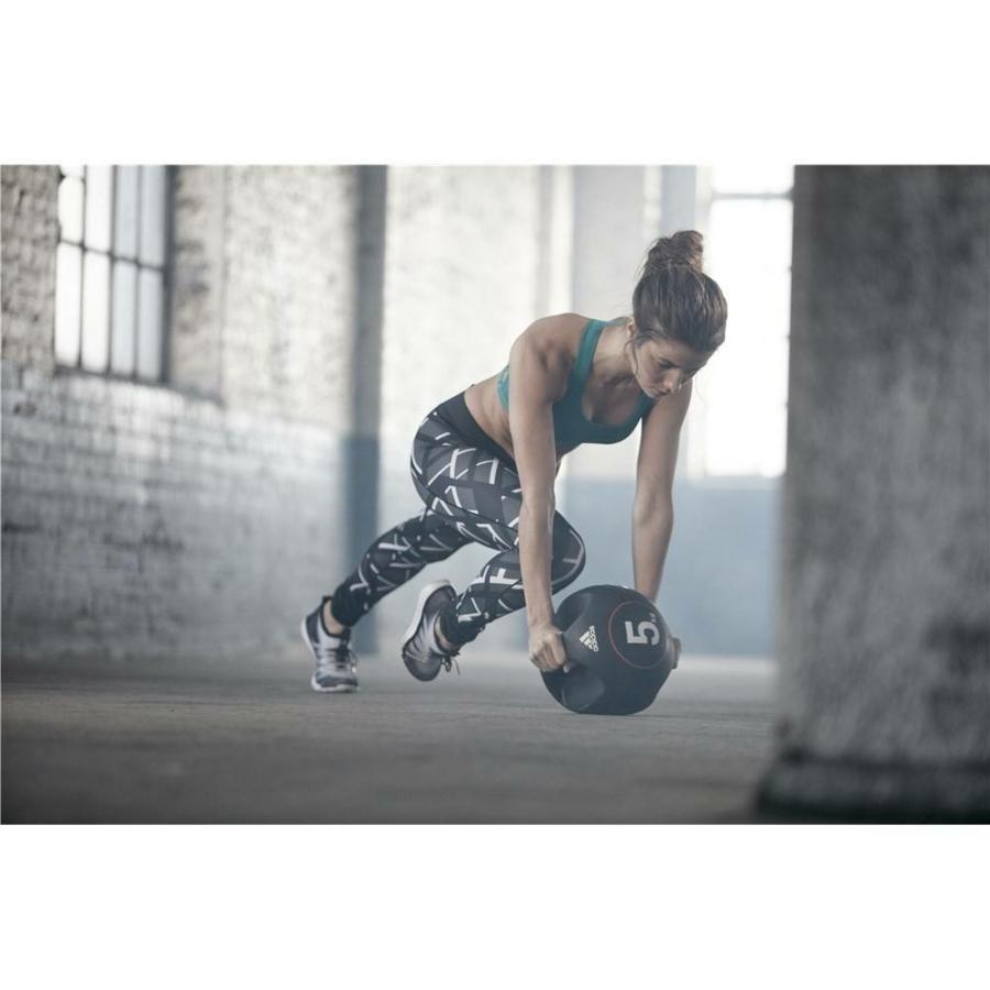 Kép 13/16 - Adidas medicinlabda fogantyúval - 5 kg 12