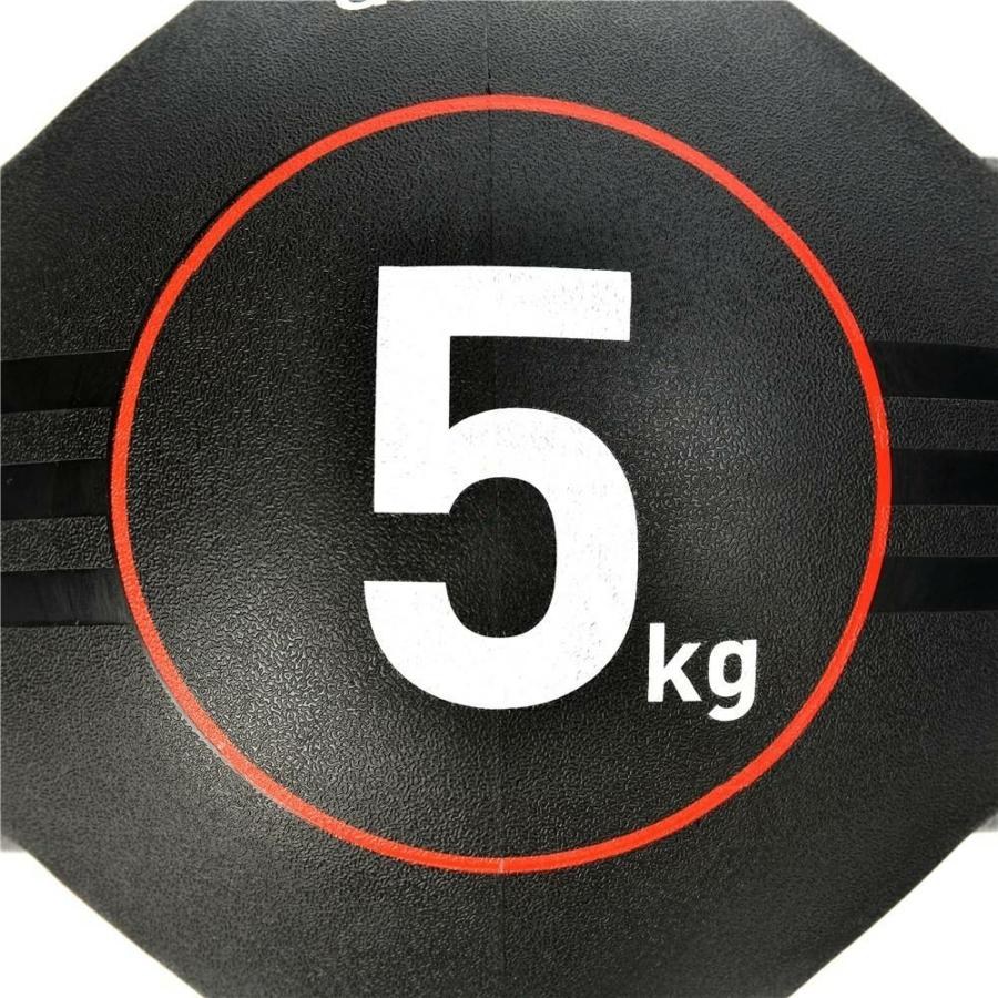 Kép 5/16 - Adidas medicinlabda fogantyúval - 5 kg 4