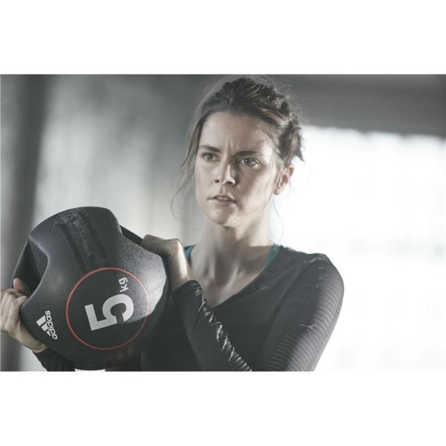 Kép 9/16 - Adidas medicinlabda fogantyúval - 5 kg 8