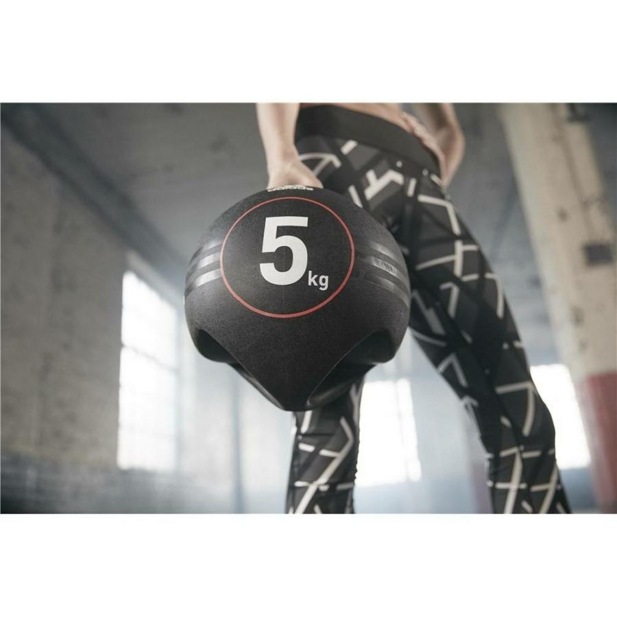 Kép 10/16 - Adidas medicinlabda fogantyúval - 5 kg 9