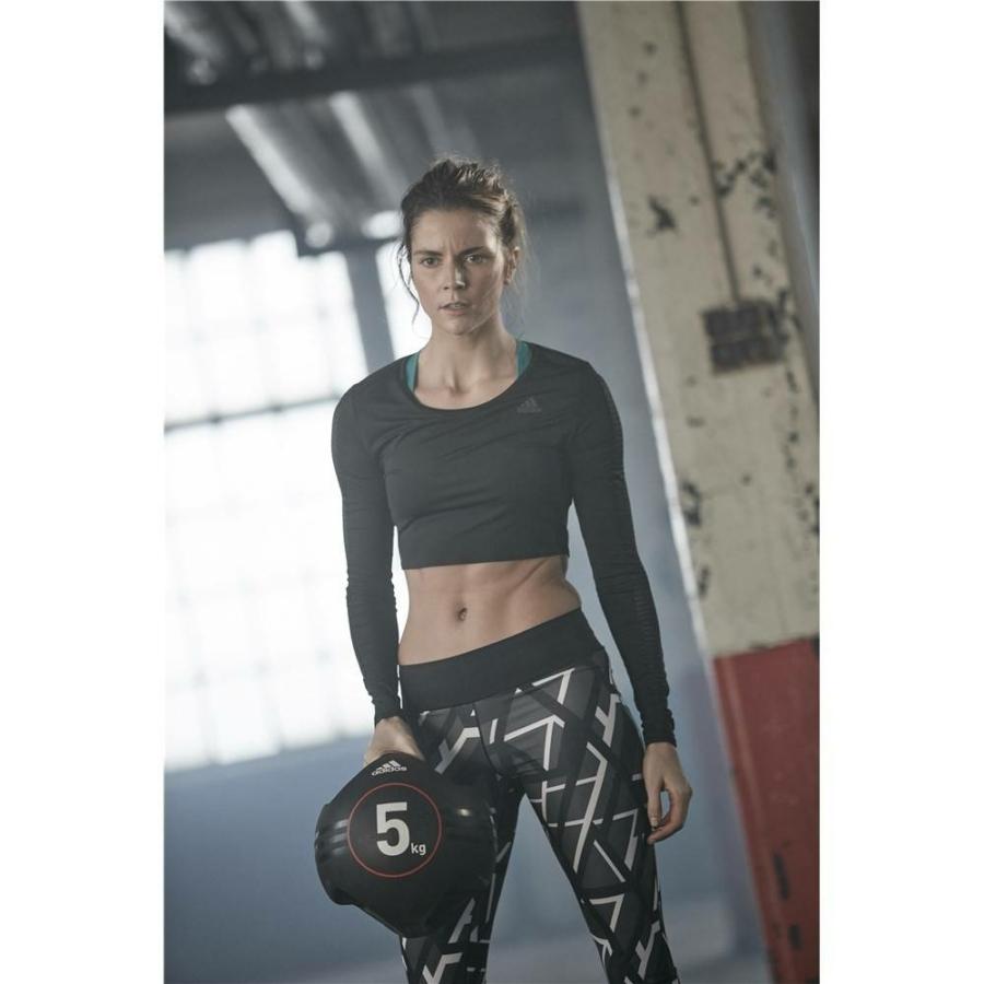 Kép 11/16 - Adidas medicinlabda fogantyúval - 5 kg 10