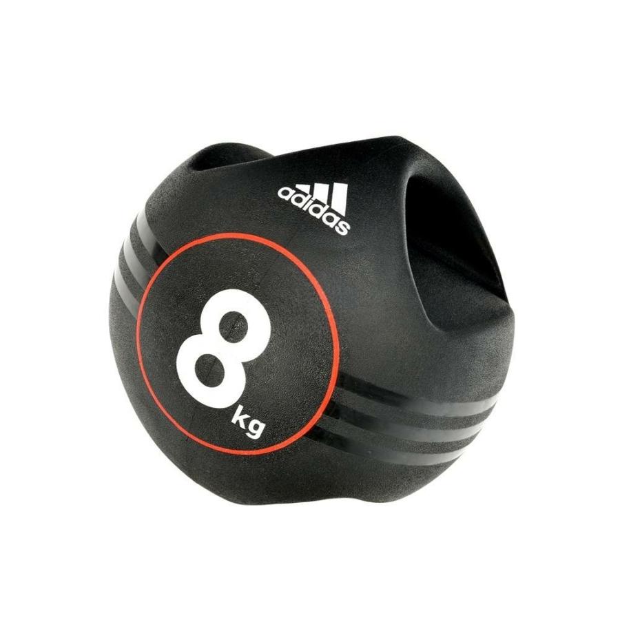 Kép 1/15 - Adidas medicinlabda fogantyúval - 8 kg