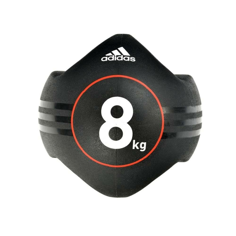Kép 2/15 - Adidas medicinlabda fogantyúval - 8 kg 1