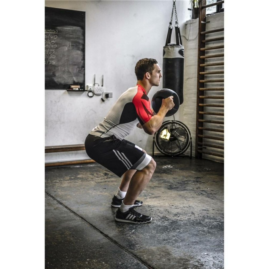 Kép 11/15 - Adidas medicinlabda fogantyúval - 8 kg 10