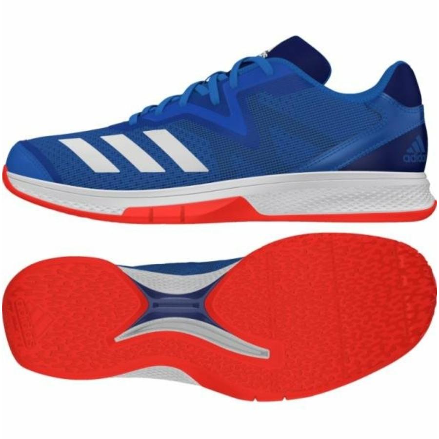 Kép 1/4 - Adidas Counterblast Exadic kézilabda cipő-kék-narancs