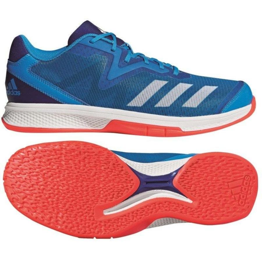 Kép 3/4 - Adidas Counterblast Exadic kézilabda cipő-kék-narancs 2