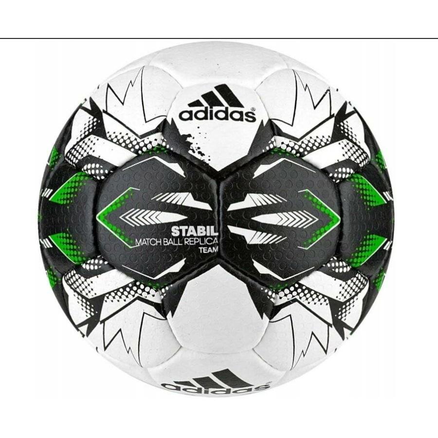 Kép 1/1 - Adidas Stabil Champ 9 kézilabda mérkőzéslabda - fehér-fekete-neonzöld-kék