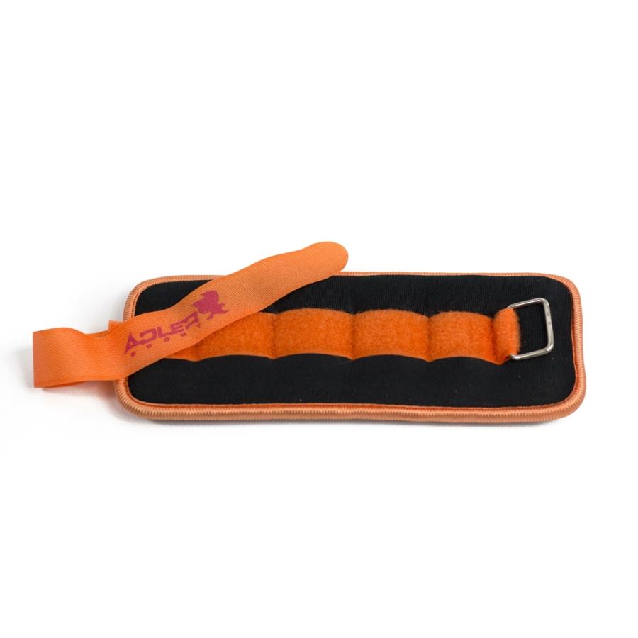 Kép 1/1 - Bokasúly - 2x1,5 kg - narancssárga-fekete