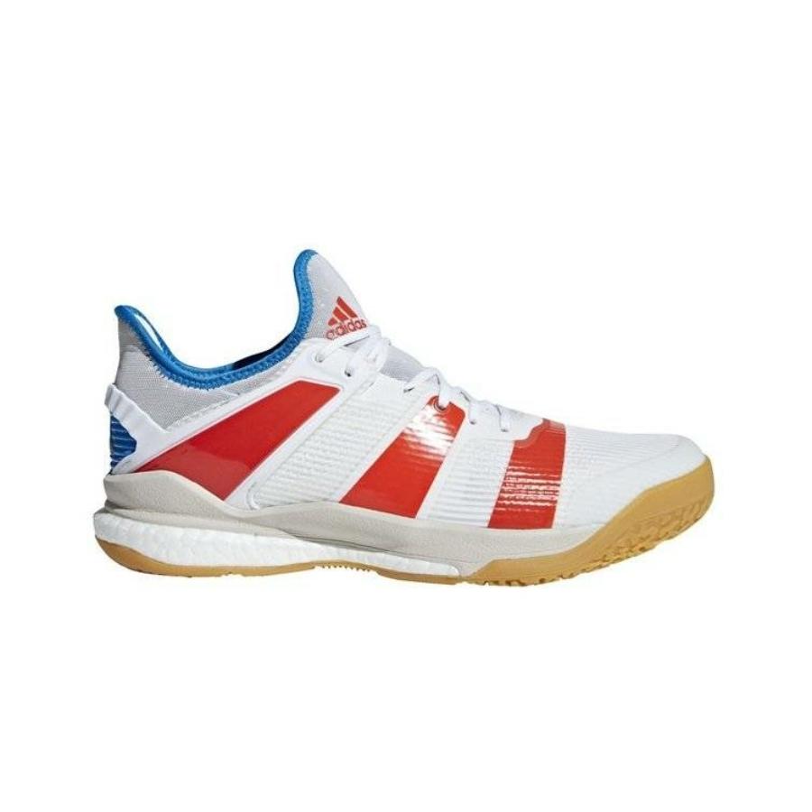 Kép 3/3 - Adidas Stabil X kézilabda cipő- fehér-piros 2