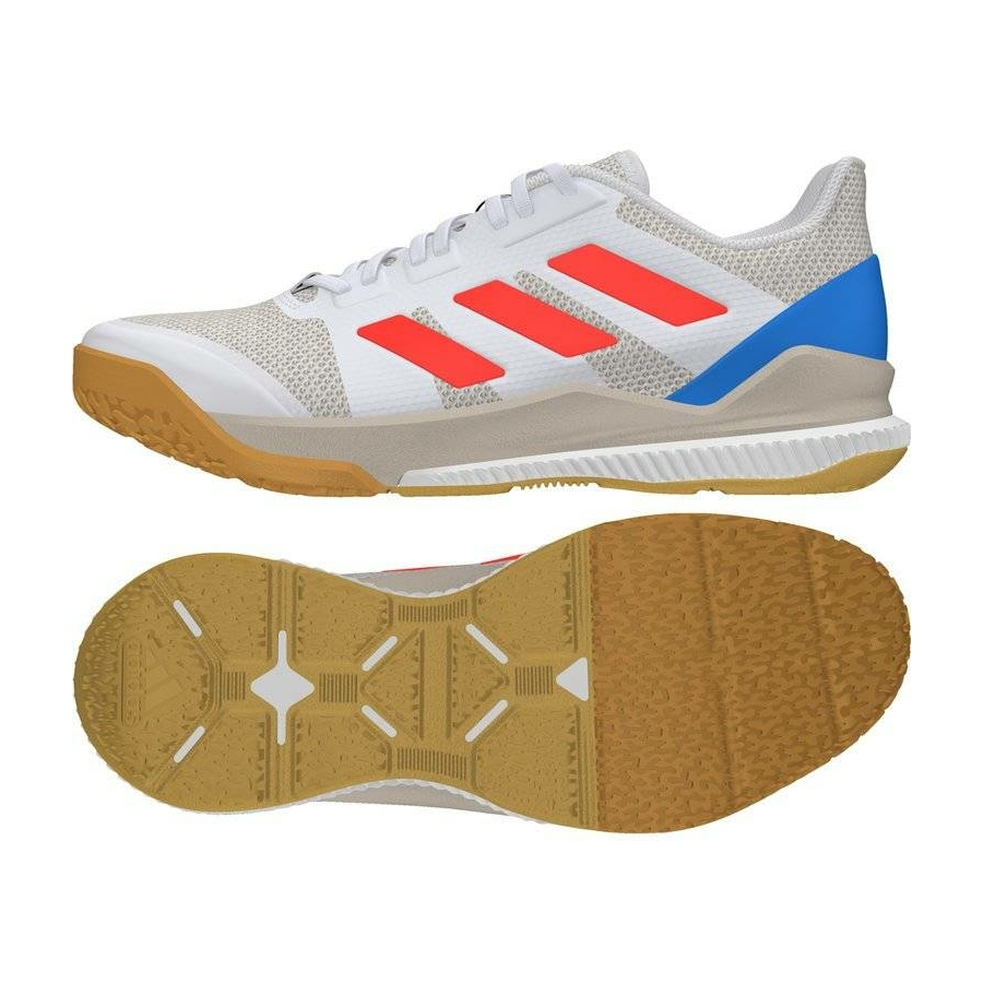 Kép 1/3 - Adidas Stabil Bounce kézilabda cipő fehér-piros-kék