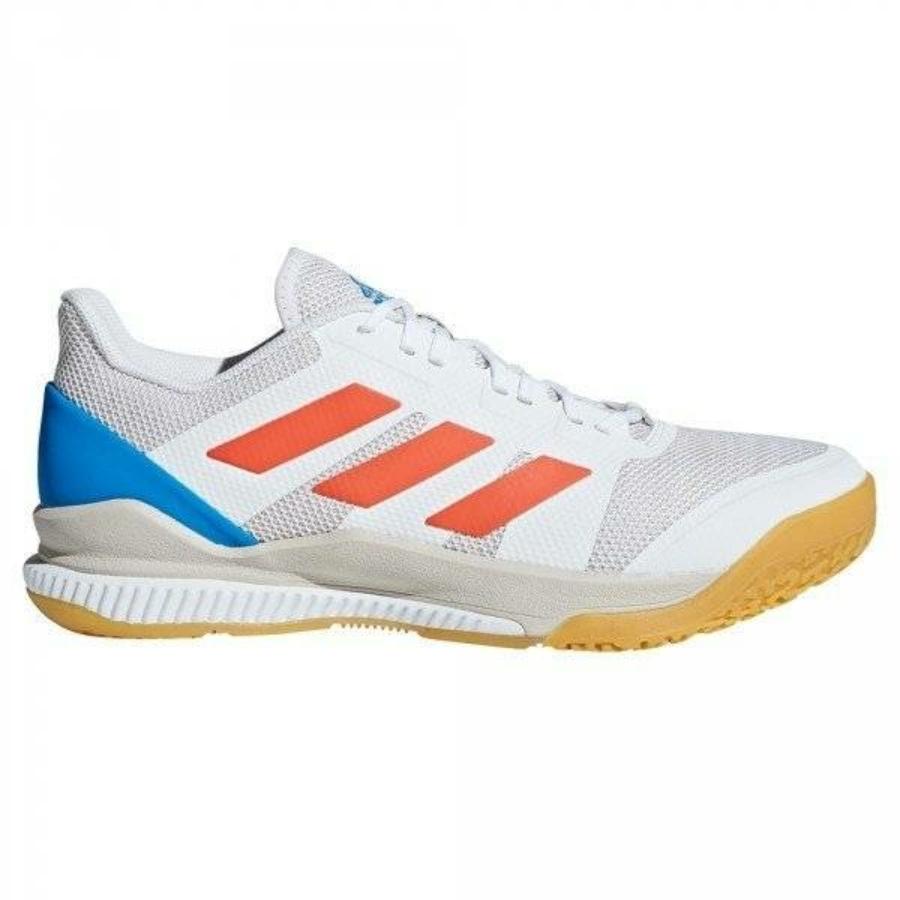 Kép 2/3 - Adidas Stabil Bounce kézilabda cipő fehér-piros-kék 1
