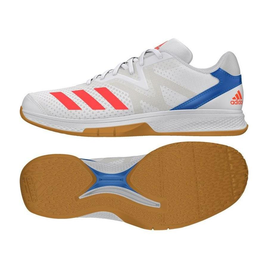 Kép 1/3 - Adidas Counterblast Exadic kézilabda cipő fehér-piros