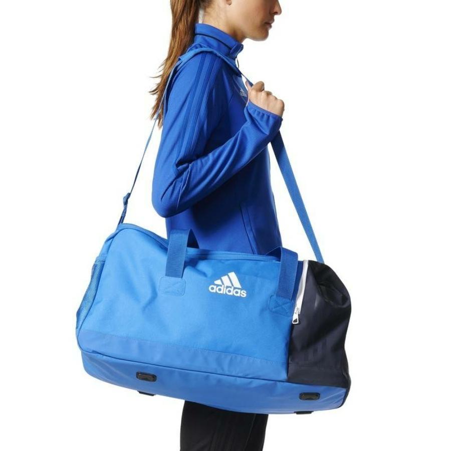 Kép 4/8 - Adidas Tiro 17 sporttáska - kék-sötétkék-fehér