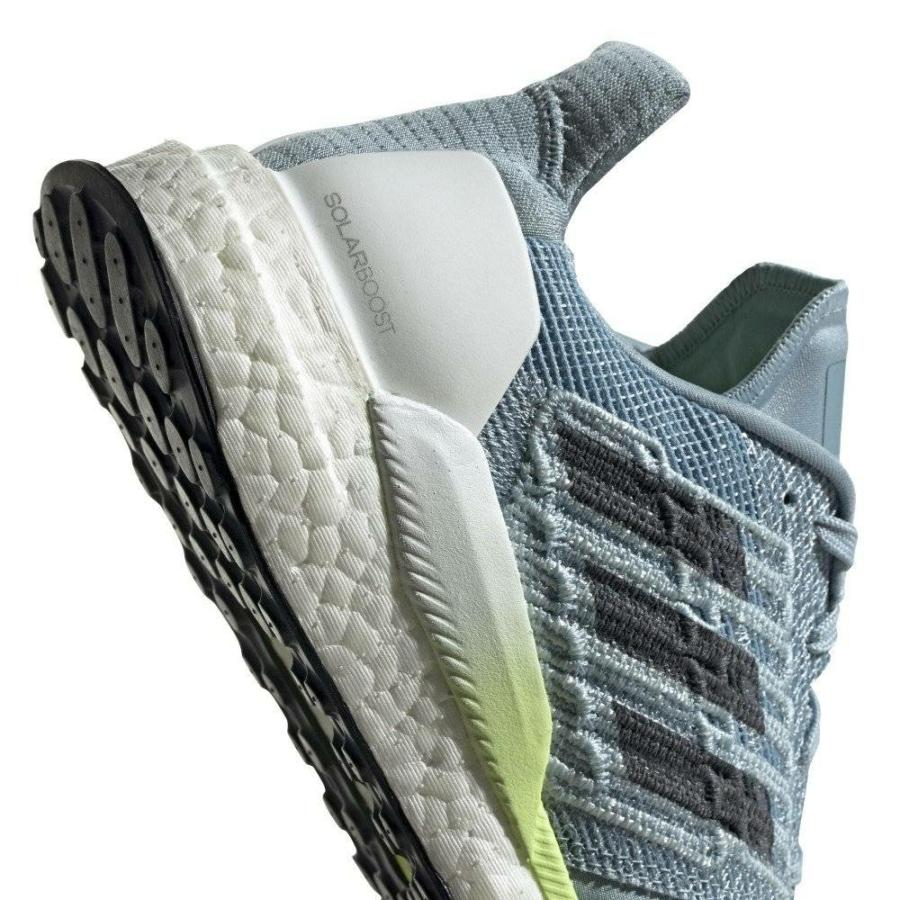 Kép 5/5 - SOLAR BOOST W világoskék-zöld-fehér cipő női 4