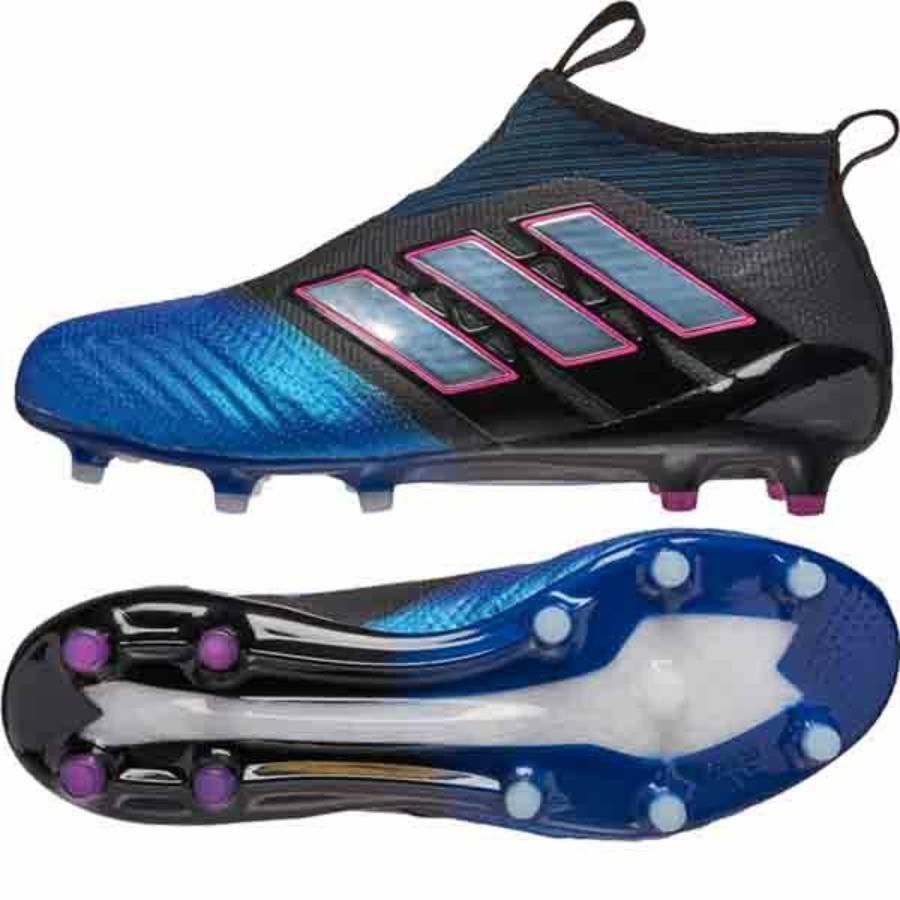 Kép 3/4 - Adidas ACE 17+ PureControl FG stoplis focicipő - fekete-kék-fehér-pink 2