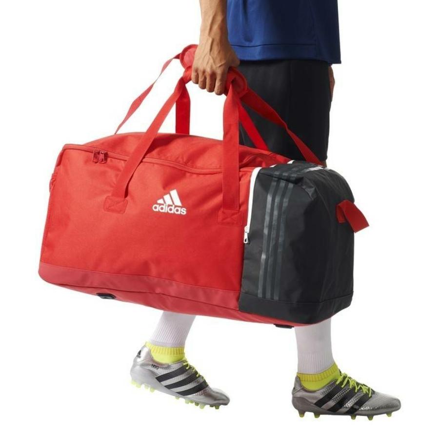 Kép 4/8 - Adidas Tiro 17 sporttáska - piros-fekete-fehér