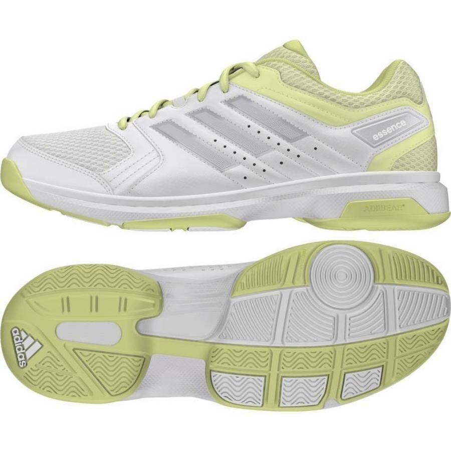 Kép 2/8 - Adidas Essence W Női Kézilabda Cipő -fehér-sárga-szürke 1