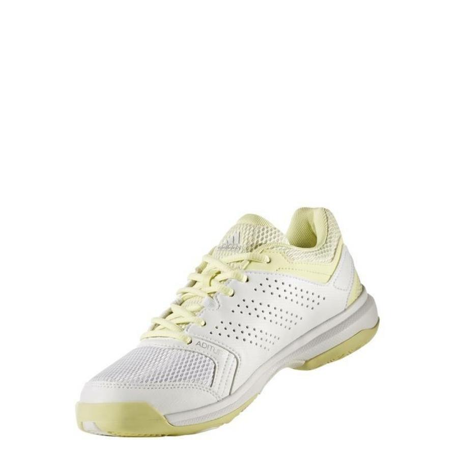 Kép 3/8 - Adidas Essence W Női Kézilabda Cipő -fehér-sárga-szürke 2