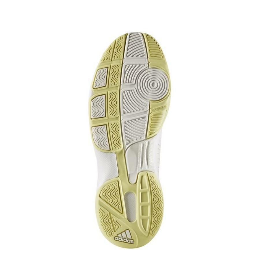 Kép 5/8 - Adidas Essence W Női Kézilabda Cipő -fehér-sárga-szürke 4