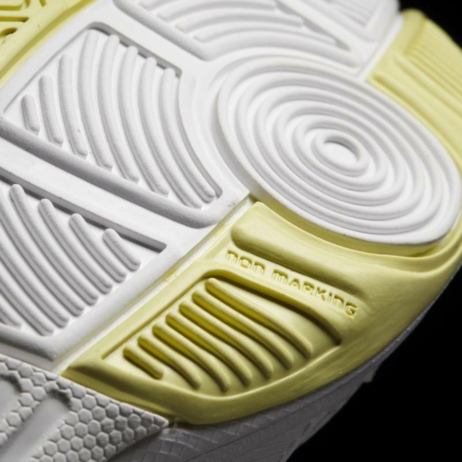 Kép 7/8 - Adidas Essence W Női Kézilabda Cipő -fehér-sárga-szürke 6