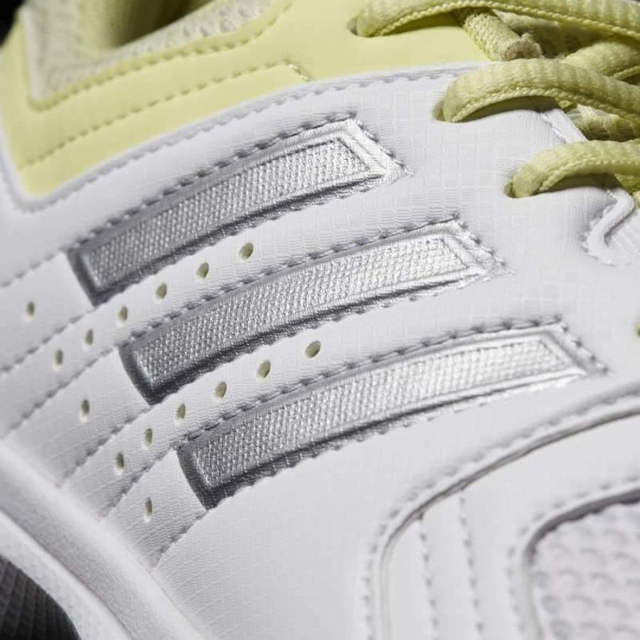 Kép 8/8 - Adidas Essence W Női Kézilabda Cipő -fehér-sárga-szürke 7