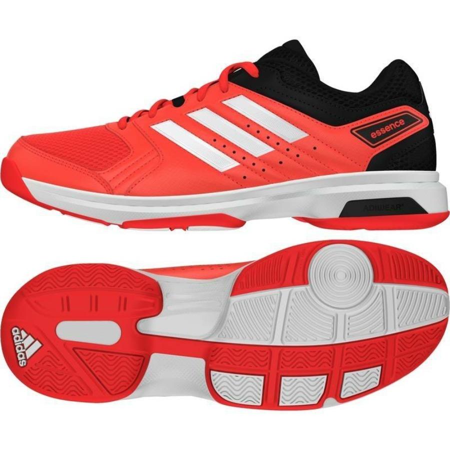 Kép 1/7 - Adidas Essence Női kézilabda cipő -piros-fekete-fehér