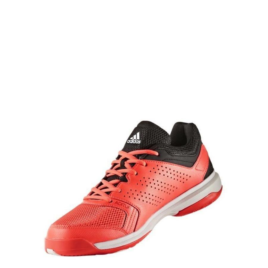 Kép 2/7 - Adidas Essence Női kézilabda cipő -piros-fekete-fehér 2