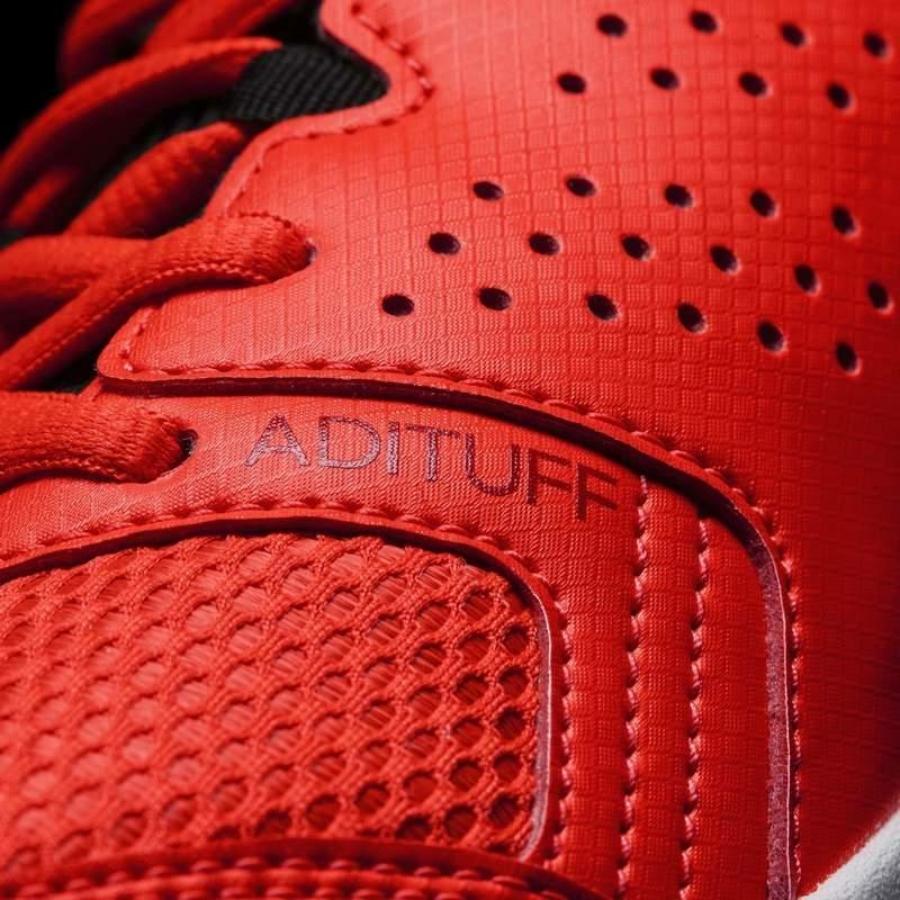 Kép 7/7 - Adidas Essence Női kézilabda cipő -piros-fekete-fehér 7