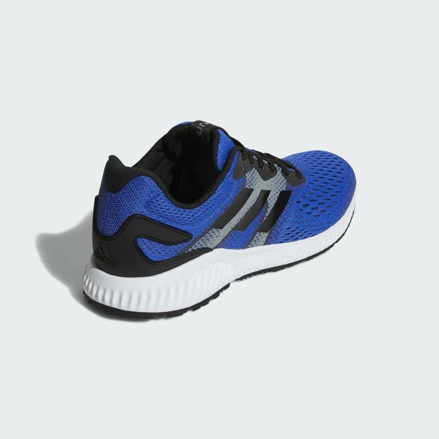 Kép 2/3 - Adidas Aerobounce férfi futócipő - kék 1